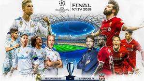 Những thông tin cần biết về chung kết Champions League, Real Madrid - Liverpool