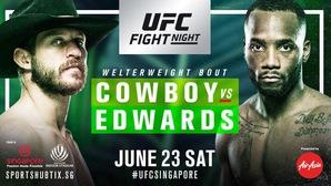 Những lý do tạm rời mắt khỏi World Cup và theo dõi UFC Fight Night Singapore cuối tuần này