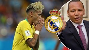 Bố của Neymar âm thầm đàm phán với Real Madrid xuyên World Cup