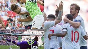 GHQT: Cahill và Kane lập công, Anh hạ gục Nigeria trước World Cup