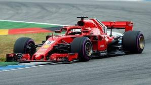 Đua phân hạng German GP: Hamilton bỏ cuộc, Vettel xuất sắc giành pole