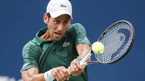 Vòng 1 ATP Cincinnati Masters: Wawrinka và Djokovic nhọc nhằn đi tiếp