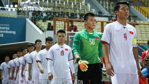 Thủ môn Bùi Tiến Dũng có thể đấu luân lưu với Olympic Nhật Bản từ vòng bảng