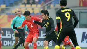 Son Heung Min và Olympic Hàn Quốc thua sốc Olympic Malaysia