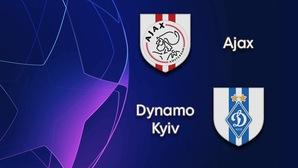 Nhận định tỷ lệ cược kèo bóng đá tài xỉu trận Ajax vs Dinamo Kiev