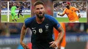 Kỷ lục của Giroud và top 5 thống kê nổi bật trong chiến thắng của Pháp trước Hà Lan