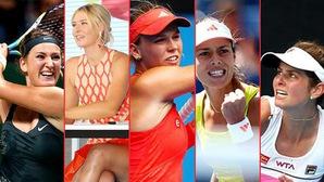 """Top 10 tay vợt nữ nóng bỏng nhất thế giới: Sharapova tụt hạng, """"gái hư"""" Bouchard vươn lên"""