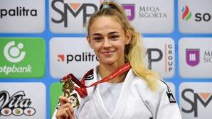 """""""Người mẫu"""" 17 tuổi Daria Bilodid trở thành nhà vô địch Judo thế giới trẻ nhất lịch sử"""