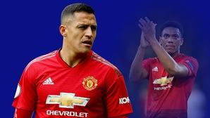 Choáng với thống kê chỉ ra Alexis Sanchez sa sút ở Man Utd khiến Anthony Martial vạ lây