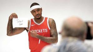 Carmelo Anthony giác ngộ, Houston Rockets mừng thầm