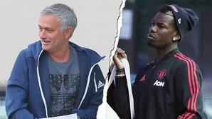 """HLV Mourinho trừng phạt Pogba sau khi bị Phó chủ tịch Ed Woodward""""nắn gân"""""""
