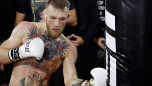 Video: Tiết lộ cảnh đối luyện của McGregor trước trận đấu tỷ đô