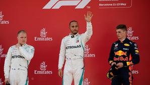 Lewis Hamilton vô địch Barcelona GP, bỏ xa Vettel 17 điểm