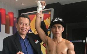 Trần Văn Thảo xuất sắc hạ knock-out nhà vô địch quyền anh Thái Lan ngay trên đất khách