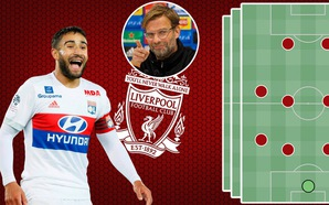 5 lựa chọn đội hình tối ưu cho HLV Klopp khi Nabil Fekir tới Liverpool
