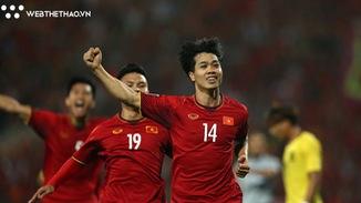 Công Phượng, Anh Đức tỏa sáng giúp ĐT Việt Nam đánh bại Malaysia và tới gần bán kết AFF Cup 2018