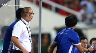 HLV Park Hang Seo phớt lờ khi nói về khả năng xoay tua đội hình trận đấu với Myanmar