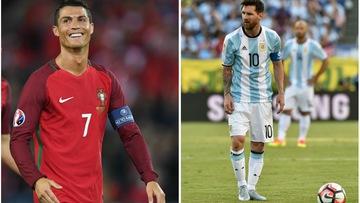 Choáng váng với thống kê ghi bàn lép vế của Messi trước Ronaldo ở các trận đấu lớn