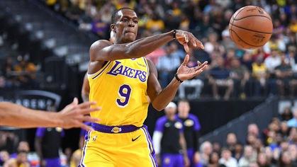 """Rajon Rondo ấn tượng vì không ở đâu các cầu thủ được """"xem phim"""" nhiều như ở Los Angeles Lakers"""