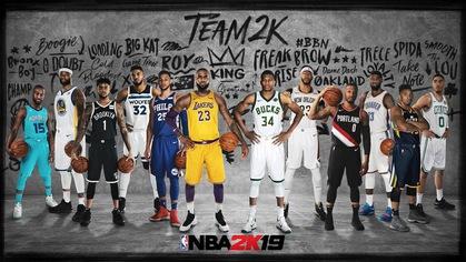 Top 10 ngôi sao có điểm số cao nhất NBA 2K19