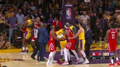 Kết quả trực tiếp NBA 2018-19: LA Lakers 115-125 Houston Rockets