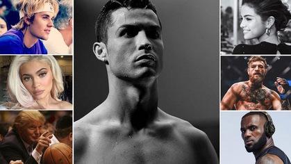 """Scandal là chuyện nhỏ, Ronaldo vẫn là """"ông hoàng"""" trên mạng xã hội"""
