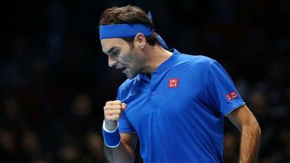 Federer và Anderson nhẹ nhàng dắt tay nhau vào bán kết ATP Finals