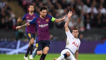 Nhận định tỷ lệ cược kèo bóng đá tài xỉu trận Barcelona vs Tottenham