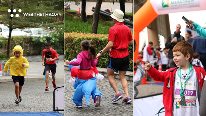 Những runner nhí đáng yêu nhất Hanoi Half Marathon 2018