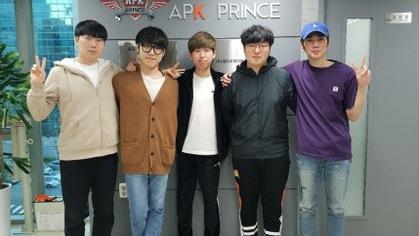 APK Prince hoàn thành đội hình với KaKAO, Ikssu, Mickey và Fury