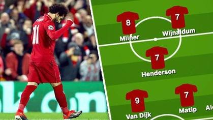 Ngoài Alisson, ai được chấm điểm cao nhất trong đội hình Liverpool?
