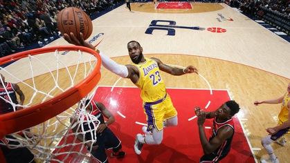 LeBron James cho biết Lakers đã cạn thể lực trước Wizards