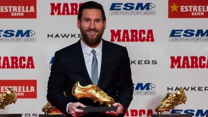 Lionel Messi giành Chiếc giày vàng châu Âu lần thứ 5