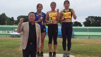 Điền kinh Hàn Quốc mở rộng: Lê Thị Mộng Tuyền giành HCV 100m nữ