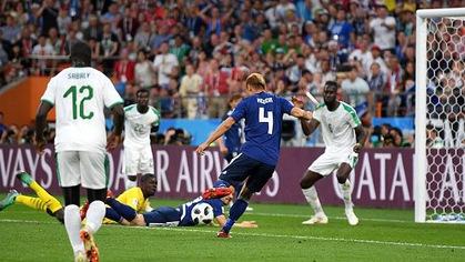 Bản tin World Cup ngày 24/6: Hiệp 2: Nhật Bản 2-2 Senegal (Mane 12', Wague 71' - Inui 34', Honda 78')
