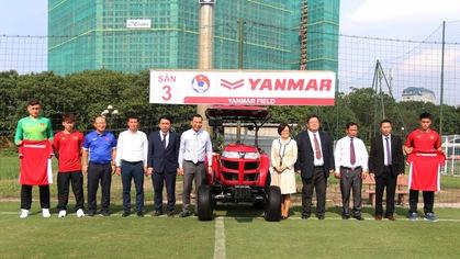 Yanmar cam kết đồng hành cùng đội tuyển quốc gia và U23 Việt Nam tới năm 2021