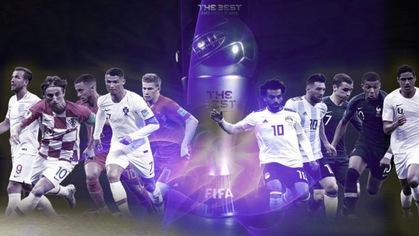 Trực tiếp lễ trao giải thưởng FIFA The Best 2018
