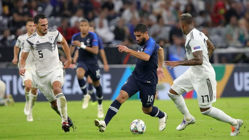 Nhận định tỷ lệ cược kèo bóng đá tài xỉu trận Pháp vs Đức