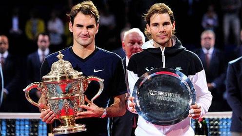 ?ánh nh? Roger Federer,  ??ng h?c Rafael Nadal!