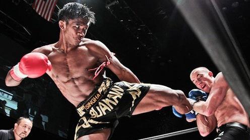 """B?n l?nh """"thánh Muay"""" Buakaw trên sàn MMA nh? th? nào?"""