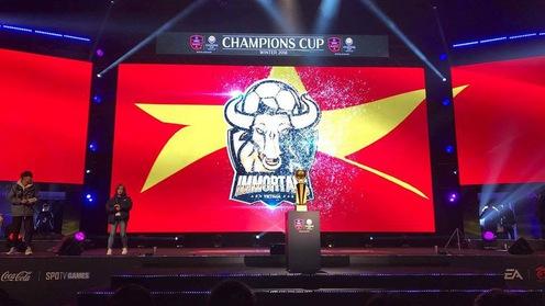FIFA Online Việt Nam viết nên lịch sử tại CKTG EA Champions Cup Winter 2018