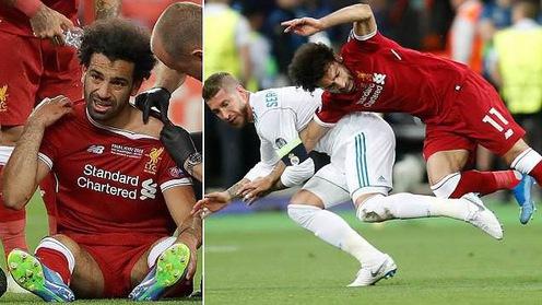 """Báo giới, chuyên gia và cầu thủ phản ứng thế nào với """"pha vật Judo"""" của Ramos khiến Salah mất chung kết Champions League?"""
