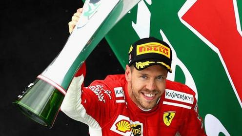Sebastian Vettel đăng quang Canada GP, chiếm lại vị trí số 1 thế giới
