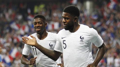 GHQT: Dàn sao Barca tỏa sáng, Pháp đánh bại Italia