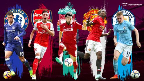 Lịch thi đấu giao hữu Hè 2018 của Man City, Man Utd, Liverpool, Chelsea và Arsenal