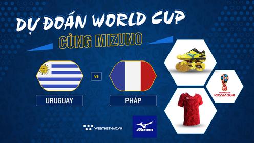 Dự đoán World Cup cùng Mizuno: Uruguay - Pháp