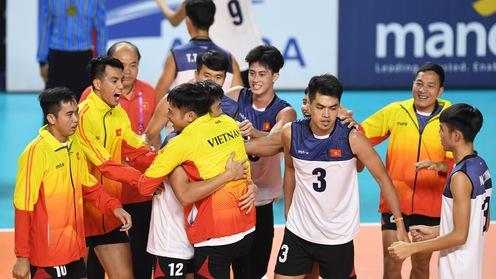 Bóng chuyền nam Việt Nam: Đánh bại Trung Quốc và thử thách sắp tới ở ASIAD 2018
