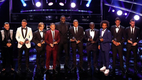 Đội hình FIFPro World 11: Real thống trị và bất ngờ khó tin từ Liverpool