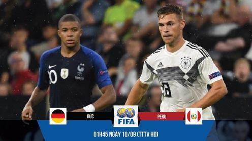 """Đức hồi sinh ở UEFA Nations League nhờ """"số 6"""" mới bắt chết Mbappe và Griezmann"""