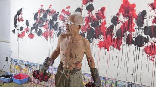 """Video: Cụ ông 80 tuổi với tuyệt chiêu """"đấm bốc thành... bức họa"""""""